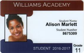 Photo Id Template Free Download Student Id Card Template Free Download Perfect Pattern Resume Cool