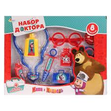 """<b>Игровой набор</b> Играем вместе """"<b>Маша и</b> медведь. Доктор ..."""