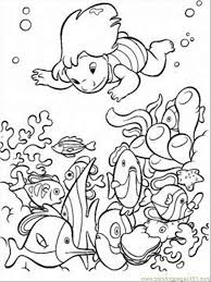 Small Picture Under The Sea Coloring Page Coloring Page Free Seas and Oceans