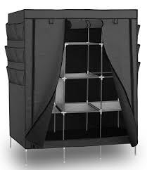 oxgord portable storage organizer wardrobe closet shoe rack