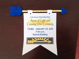 New Arrow Of Light Ceremony Pin On Cub Scout