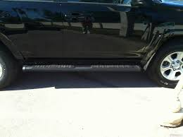 2015-17 4RUNNER BLACK CRUSHED OVAL RUNNING BOARDS SR5 AND TRAIL ...