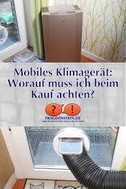Mobiles Klimagerät Worauf Muss Ich Beim Kauf Achten Haushalt Bei