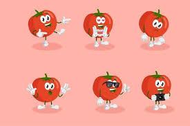   view 19 tomato illustration, images and graphics from +50,000 possibilities. Tomato Mascot Logo Graphic By Nabila Studio Creative Fabrica