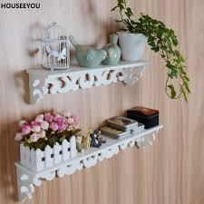 Weiß Wand Hängen Dekorationen Regal Waren Bequem Lagerung