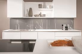 Kitchen splashback with bottle motif from Nobilia kitchens.