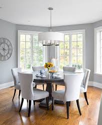 grey and white dining room. Unique White Light Gray In The Dining Room Is Perfect For Those Who Prefer A More Airy  Ambiance Design Jane Lockhart Interior Design To Grey And White Dining Room Pinterest