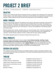 Business Brief Example Business Brief Example Cards Wonderfulcaping In Hardcapes And Design