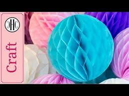 How To Make Hanging Paper Ball Decorations Classy Honeycomb Paper Balls Craft How To Make Hanging Paper Balls For