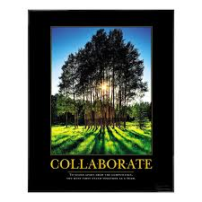 inspirational posters for office. Motivational Posters - Collaborate Grove Poster Inspirational For Office P