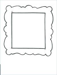 printable picture frames templates printable picture frame template printable frame template printable