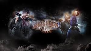preview wallpaper bioshock infinite game characters lettering logo