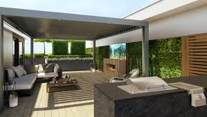 ... Architecture Table On Green Grass In Backyard Round Shage Area Modular  Roof Systems Urban City Terrace