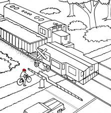 Small Picture Coloring Pages Of Train Station Coloring Pages