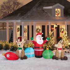christmas mickey mouse inflatable christmas holidayations in fort wilderness c42cw4 inflatable christmas decorations