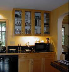 image of kitchen cabinet doors with glass fronts
