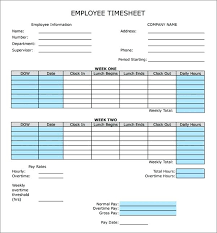 Biweekly Payroll Timesheet Template Free Bi Weekly Monthly Timesheet Template Semi Prinsesa Co