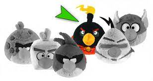 Buy Toys and Models - ANGRY BIRDS SPACE 5-IN PLUSH - BOMB BIRD -  Archonia.com