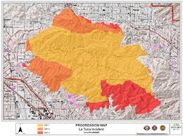 lafd la tuna fire map – santa clarita valley signal
