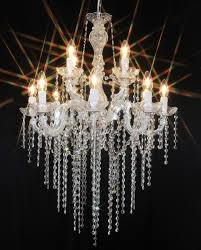 chandelier 12 arms made with spectra crystal by swarovski 699