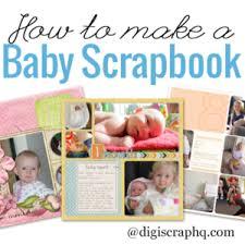 Baby Albums How To Make A Baby Scrapbook Album Digital Scrapbooking Hq