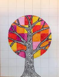 Cool Art Warm Cool Trees Tinyartroom