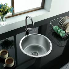 Kitchen  Contemporary Zero Radius Top Mount Sink Best Modern Best Stainless Kitchen Sinks