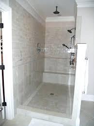shower door ideas shower stalls without doors best shower no doors ideas on open small bathrooms
