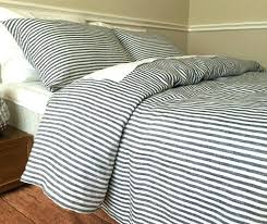 navy blue white striped duvet cover navy and white ticking stripe duvet cover striped linen bedding