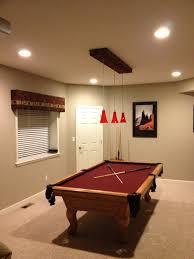 billiard room lighting. Accessories \u0026 Furniture, Vintage Pool Table Design With Cool Natural Varnished Wooden On Billiard Room Lighting