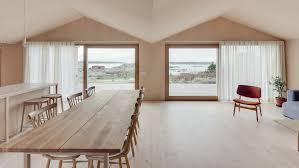 Interior Design Magazine Articles Studio Holmberg Designs Pine Clad Holiday Home On Swedish Island