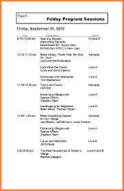 Program Of Events Sample Event Program Samples Archives Hashtag Bg