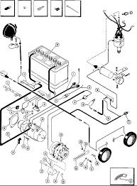 Power case 580 elec equipment wiring 159 spark ignition eng used w alternator 1st trac s n 86566 kubota alternator wiring schematic