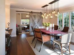 ambient room lighting dining room farmhouse with leather chairs pendant lighting wood flooring ambient room lighting