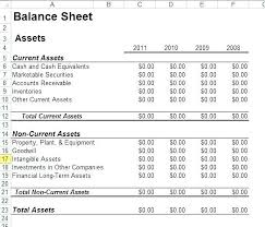 Detailed Classified Balance Sheet Classified Balance Sheet Template Excel In Free Logo Design