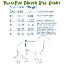 Dog Diaper Size Chart Fuchsia Dog Panties Diaper Cover