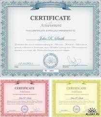 Сертификаты и дипломы в векторе certificate stock vectors  Сертификаты и дипломы в векторе certificate stock vectors