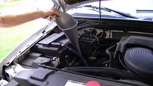 How to Check Transmission Fluid - 2001 Ford F150 - YouTube