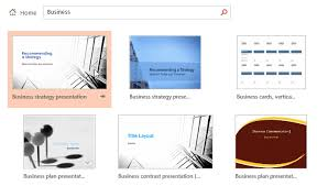 Powerpoint 2013 Template Location Creating And Opening Presentations Tutorial At Gcflearnfree