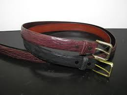 sharkskin belts