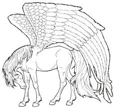 Pegasus Coloring Pages Get Coloring Pages