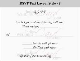 How To Reply To Wedding Rsvp Card How To Respond To A Wedding Rsvp Card Indian Wedding