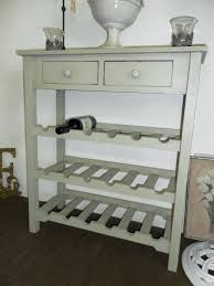Wine Rack Console Table Bodhum Organizer