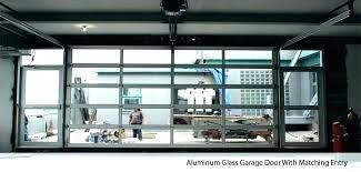 glass garage doors cost aluminium glass garage doors s in south frosted door for