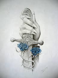 наколки роза в руках наручниках энциклопедия российских тюремных