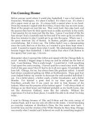 i m Сoming home essay by brian scalabrine  i m Сoming home essay by brian scalabrine
