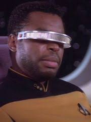 Image result for geordi la forge counselor troi