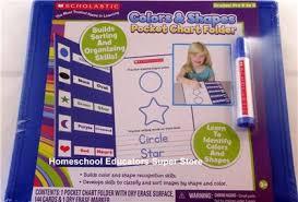 Star Student Pocket Chart Details About Scholastic Color Shapes Pocket Chart Folder Homeschool Teacher Pre K To Kinder