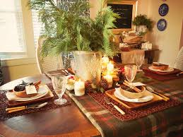 Rustic Winter TableSetting Ideas HGTV Fascinating Dining Room Table Settings Decoration