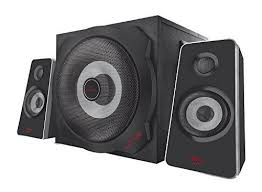 <b>Trust GXT 638</b> Digital 2.1 Gaming Speaker Set with Subwoof... https ...